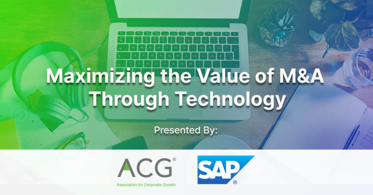Accelerating Value on M&A Activity through Analytics & Planning
